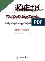 WarheimFS Karty Magii 004 Magia Wysokich Elfow