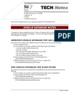 En TN 2000-10-0001 Oracle Notes OAS50 Rev-B