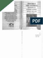 Agnes Heller Historia y Vida Cotidiana