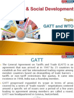 27(B) GATT and WTO