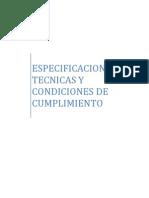 Especificaciones Técnicas y Condiciones de Cumplimiento_372 Escuelas