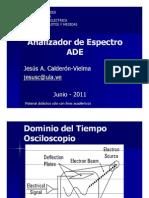 Analizador de Espectro ADE-2011-Completo