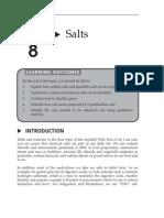 Topic 8 Salts