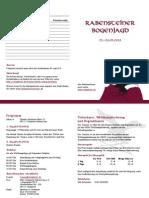 Ausschreibung zur Rabensteiner Bogenjagd 2013