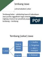 Tembang Jawa