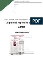 Política represiva de Alán García