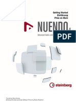 Getting Started Nuendo