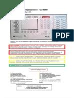 Instrucciones de Operación del FMZ 5000