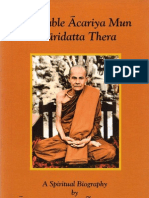 Venerable Acariya Mun Bhuridatta Thera - A Spiritual Biography