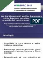 O Uso  da análise Gerencial na politica (2012)