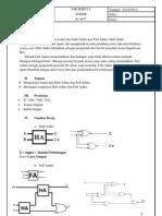Job Sheet 8 (Adder)