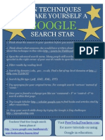 Techniques Google Search Star