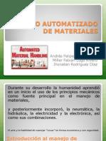 Manejo Automatizado de Materiales