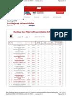 Ranking mejores universidades Perú AE