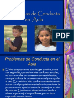 Problemas de Conducta en Aula
