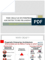 [G3-2nd.presnt] the Oracle Enterprise Architecture Framework