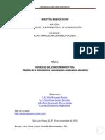 Sociedad Del Conocimiento y TICs (1)