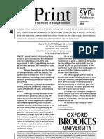 InPrint 109 September 2005
