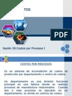 Sesion 28 Costeo Por Procesos I 2012