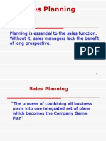 5 - Sales Planning