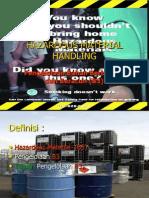 Hazardous Material Handling