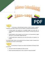Constituciones Colombia