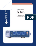 Manual de Operador Nellcor Oximax 600