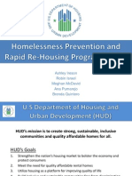 Homelessness Prevention & Rapid Rehousing Program