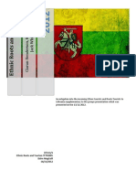 Lithuanian Ethnic Roots and Tourism, Report