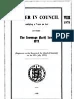 Sewerage (Sark) Law 1978
