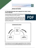 Lectura 3 - Sistemas de Costeo