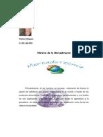 Artículo sobre la Historia de la Mercadotecnia