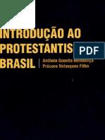 2 Introdução ao protestantismo no Brasil Mendonça