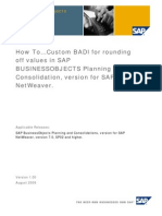 HTG-Custom BADI for Rounding Off Values in SAP BPC NW