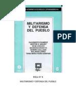 Ribla 8 - Militarismo y Defensa Del Pueblo