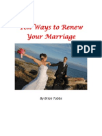 10 Ways to Renew Your Marriage
