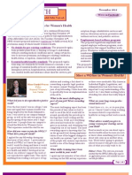 WEALTH - WIN Women's Health Policy Network Newsletter November 2012