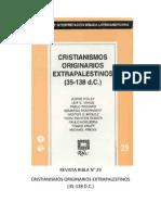 Ribla 29 - Cristianos Originarios Extrapalestinos (35-138 d.c.)