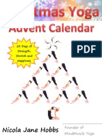 Christmas Yoga Advent Calendar