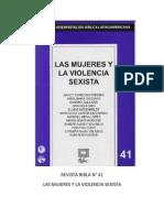 Ribla 41 - Las Mujeres y La Violencia Sexista