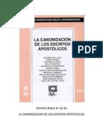Ribla 42-43 - La Canonizacion de Los Escritos Apostolicos