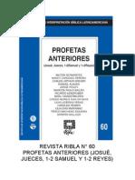 RIBLA 60 - PROFETAS ANTERIORES