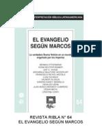 Ribla 64 - El Evangelio Segun Marcos