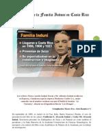 Legado de La Familia Induni en Costa Rica