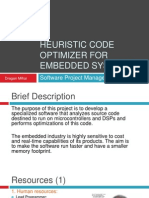 Heuristic Code Optimizer for Embedded Systems
