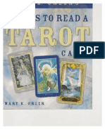21 Ways To Read A Tarot Card by Mary K. Greer