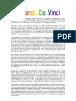 Biografia Leonardo Davinci