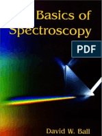 The Basics of Spectroscopy