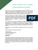 Ultimo Resumen 08 Tomo 2.2 Estrategia Institucional Para La Seguridad Ciudadana Pnvcc