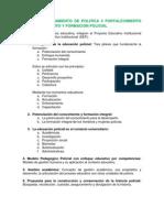 Ultimo Resumen 13 Tomo 4 Lineamiento de Politica 4 Fortalecimiento Del Conocimiento y Formacion Policial